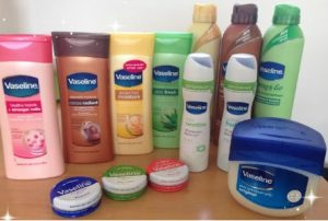 Vaseline range of Products